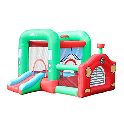 AirMyFun Indoor Bounce House Inflatable Bounce House with BlowerBounce House Kids Slide Jumping Bouncy Castle