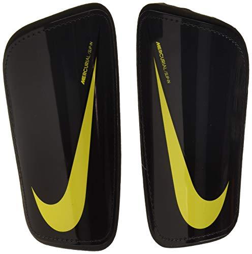 Nike Unisex-Erwachsene Mercurial Hard-Shell Schienbeinschoner, Anthracite/Black/Opti Yellow, M