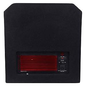 Rockville 1000 Watt 2-Way Powered Active Stage Floor Monitor Speaker, black, 12 inch (RSM12A)