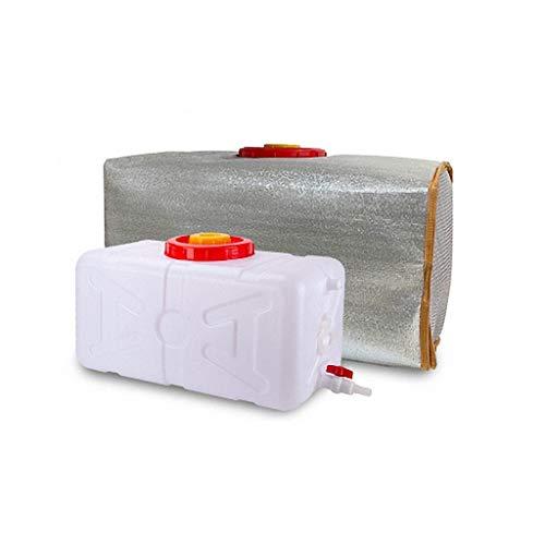 Bidon aqua Cuadrado Cubo De Plástico 25L/45L/70L/100L/160L Bidón De Agua Con Grifo Recipiente De Agua Portátil Coche Tanque De Agua De Emergencia Depósito De Agua Contenedor De Agua ( Size : 25L )