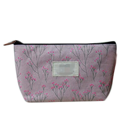 style 3 Vi.yo PVC sac cosm/étique en plastique maquillage transparent sac cl/é accessoires sac de rangement pour les femmes 18 x 14 x 4 cm