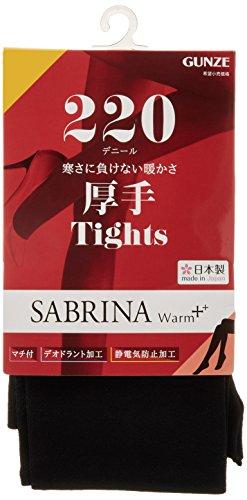 『[グンゼ] タイツ SABRINA サブリナ ウォームプラス しっかりあたたかい 220デニール相当 レディース』の1枚目の画像