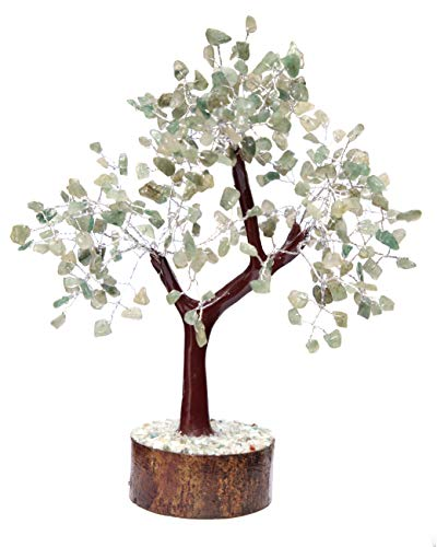 KACHVI Cristales y Piedras Preciosas curativas Feng Shui Bonsai Tree Crystal Trees...