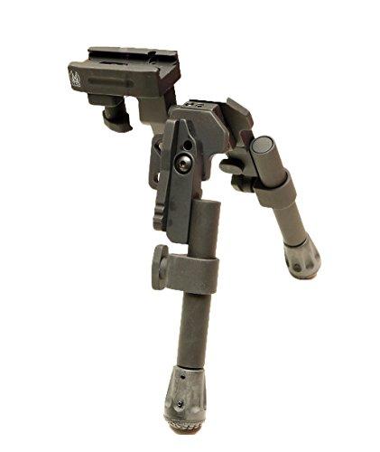 GG&G Inc. XDS-2C Tactical Bipod, Compact, fits Picatinny, Black
