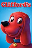 """Clifford's: Notebook/Journal for Writing, College Ruled Size 6"""" x 9"""", 110 Pages"""