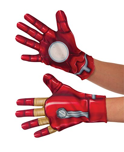 guanti iron man Rubies Boys Iron Man Civil War Gloves Child One Size