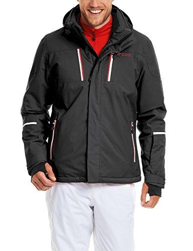 Maier sports Heren Ski-jack Lupus, zwart, 60