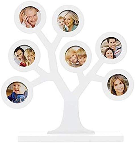 Pearhead P62111 Cornice Albero Genealogico per Foto Famiglia, Bianca