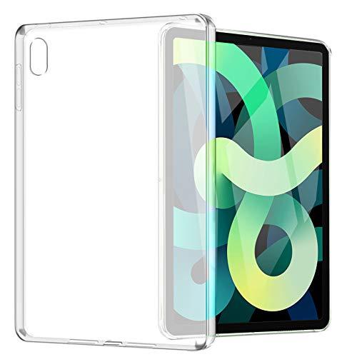 Yoowei Funda Compatible con iPad Air 10.9' (2020), Espalda Translúcida Mate Blanda Flexible Ligera Ultra Delgada Protectora Case para Air 4 Modelo A2324 A2072 A2316 A2325