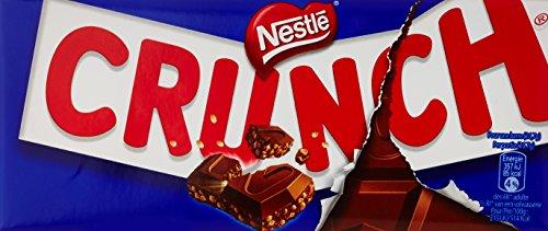 Nestlé El Chocolate Crunch Cereales Y Leche De 2 Tabletas De 100 G