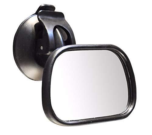 YuQiLin Mini Silla DE Seguridad DE NIÑOS Espejo Espejo REPRODUCTO Asiento DE ATRÁS del CUCHO Vista al bebé Mirror Ajustable Coche Monitor de Seguridad Seguridad Asiento de Seguridad inverso