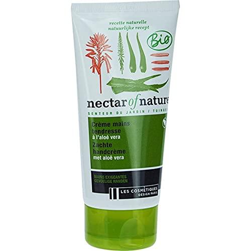 Nectar Of Nature - Crema de manos orgánica suave con aloe v