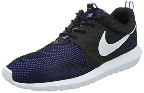 NIKE 2015 Q2 Roshe Run Rosherun NM Breeze Fashion Sneaker Shoes Blue Black 644425-005 (US8.5)