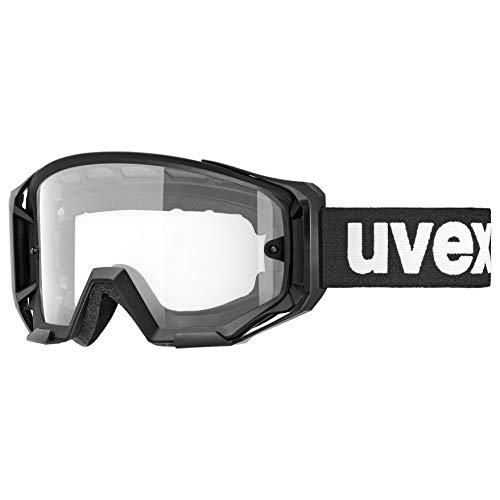 uvex Unisex – Erwachsene, athletic bike Bike Goggle, black, one size