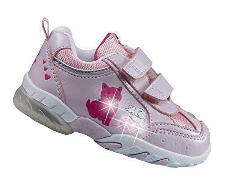 EB kids - Zapatillas para niña, Color Rosa, Talla 22 EU
