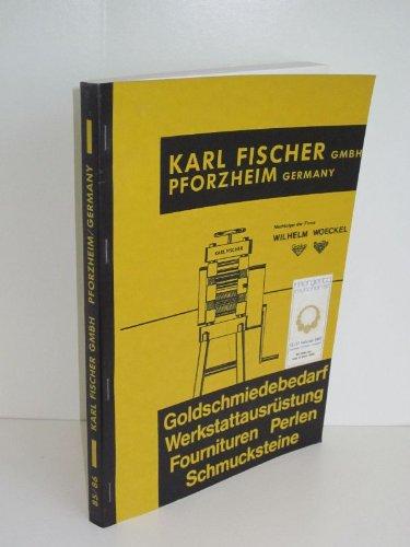 Goldschmiedebedarf Werkstattausrüstung Fournituren Perlen Schmucksteine - Fischer-Katalog Komplett-Programm