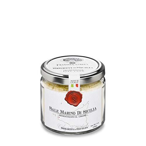 Trapani Sea Salt flavoured with Lemon 200gr