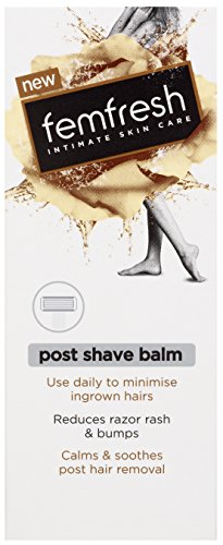 Femfresh - Post Shave Balm - med svarta vinbärsolja, mandelolja och aloe vera - pH-balanserad