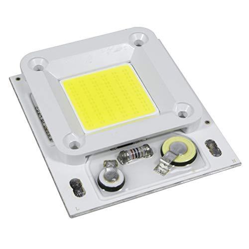 STBTECH LED Light Engine 50 W Super Bright 220 V LED COB Chip Input integrato Smart IC Driver per proiettore [Classe energetica A+++] - 1 confezione