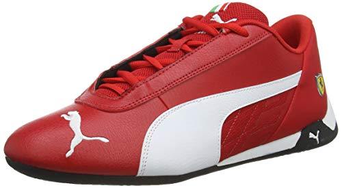 PUMA Ferrari R-cat Tenis, rojo (negro, blanco, blanco, (Rosso Corsa-puma White-puma Black)),...