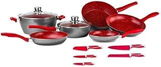FlavorStone, Batería de Cocina Family Set, 1 Set de Cocina,