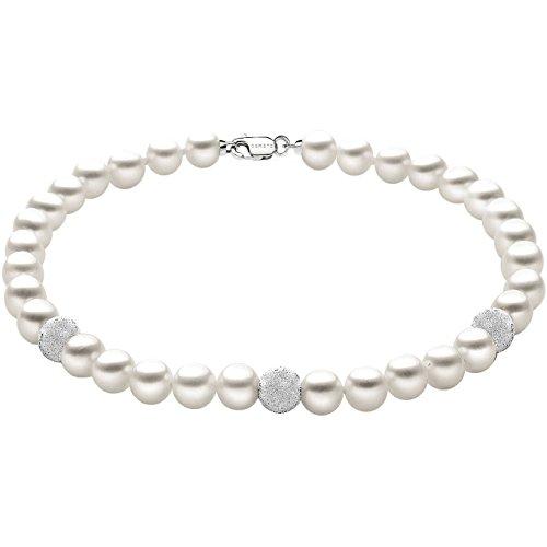 bracciale donna gioielli Comete Perla elegante cod. BRQ 193 B