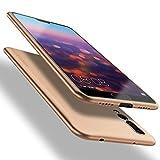 X-level Huawei P20 Pro Hülle, [Guardian Serie] Soft Flex Silikon Handyhülle Premium TPU Schutzhülle Echtes Handygefühl Hülle Cover für Huawei P20 Pro - Gold