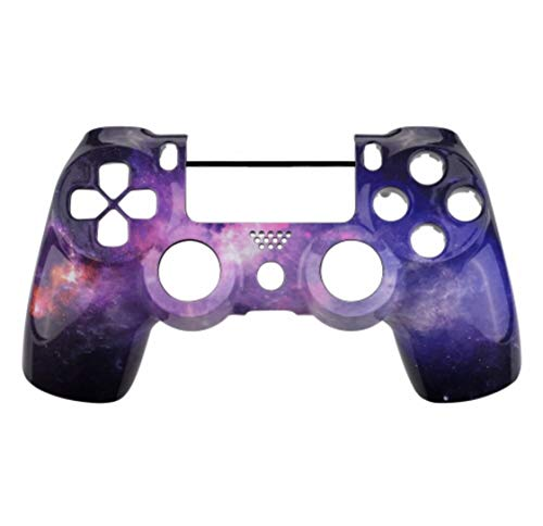 PS4 コントローラー用 フロントシェル ( コントローラーカバー for Playstation4 Slim Pro Controller (CUH-ZCT2 JDM-040 JDM-050 JDM-055) (Glossy Starry Sky A) [並行輸入品]
