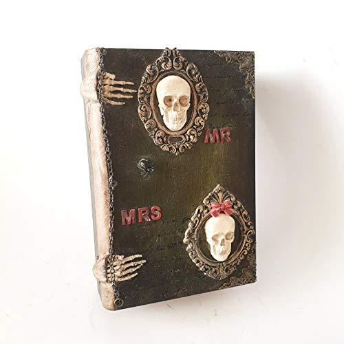 Dekorbuch des Alchemisten, Altes Buch der Alchemie, Buchbox, Buch box, Helloween, Schatulle, Geschenkbox