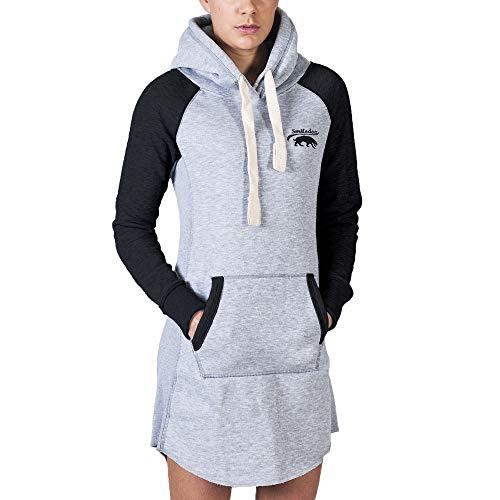 SMILODOX Longpullover Damen | Hoodie für Sport Fitness & Freizeit | Oversize Kapuzenpullover | Pullover - Sportpullover - Sweatshirt -...