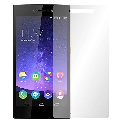 Slabo 4 x Bildschirmschutzfolie für Wiko Highway Star 4G LTE Bildschirmfolie Schutzfolie Folie Zubehör Crystal Clear KLAR