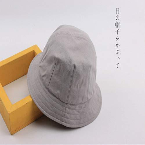 sdssup Sonnenschutz Sonnenschutz Fischerhut Hut für Männer und Frauen dzp hellgrau L (58-60cm)