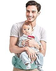 Asiento de Cadera Portabebés Ergonómica Portador de Bebé 3-36 Meses Niños Pequeños