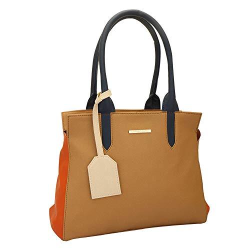 Lapis O Lupo Mode Damen Handtasche Beige Designer Satchel Taschen mit Multi Pocket