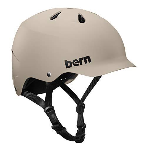 Bern Watts EPS Fahrrad Helm, Matte Sand, M