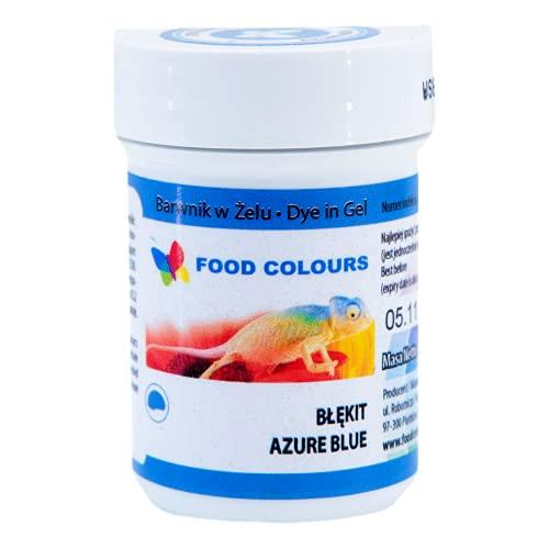 Food Colours   Barwnik spożywczy w żelu   Słoiczek 35 g (błękit)