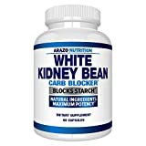 White Kidney Bean Extract - 100% Pure Carb Blocker and Fat Absorber for Weight Loss - Inte...
