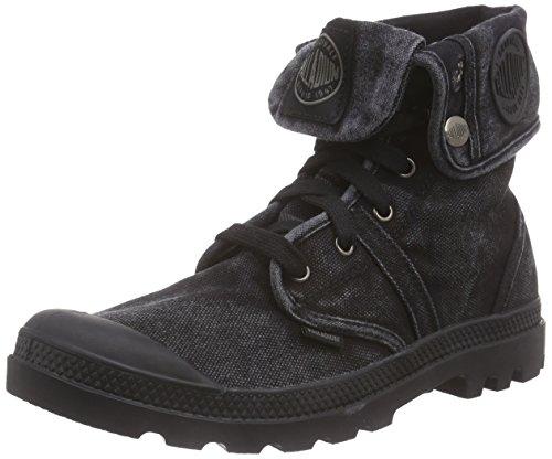 Palladium Herren Pallabrouse Baggy Combat Boots, Schwarz (Black/Metal 069), 43 EU