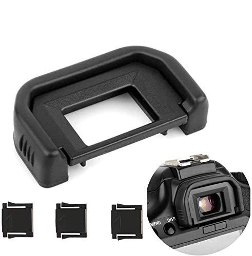 Fotover Augenmuschel Okularmuschel Okular Sucher für Canon EOS 77D 800D 760D 750D 700D 650D 600D 550D 500D 450D 400D 300D 200D 1300D Kameras Ersetzt Canon EF Okular mit Blitzschuhabdeckung(3 Stück)