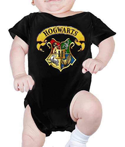Body de NIÑO Harry Potter Hogwarts Slytherin Gryffindor 015 3 Meses