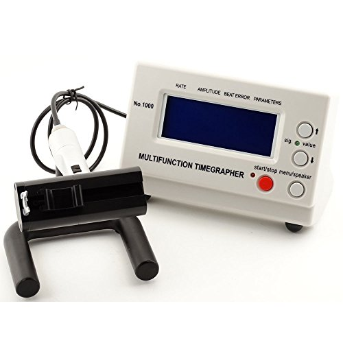 Anesty Multifunction Timegrapher, Watch Timing Calibration Tool for Mechanical/Automatic Watches...