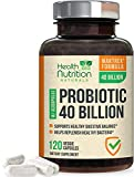 Probiotic 40 Billion CFU - 15x More Effective...