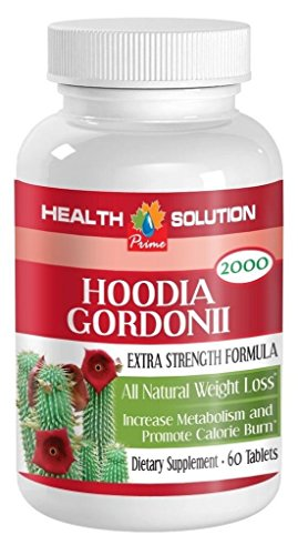 1 Bottle Pure Hoodia Gordonii Cactus 2000mg Lose Weight for Women