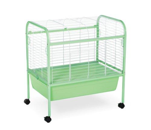 Prevue Hendryx Grass Green & White Small Animal Cage Stand
