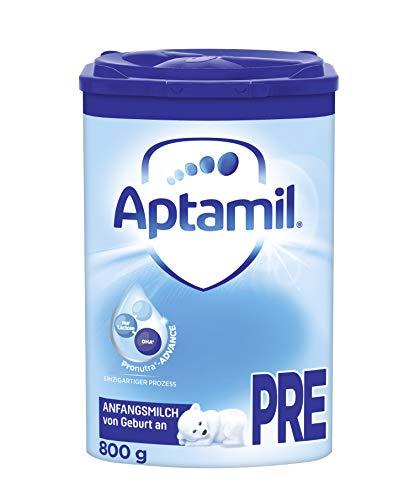 Aptamil Pronutra-ADVANCE PRE, Anfangsmilch von Geburt an, Baby-Milchpulver (1 x 800 g)