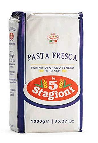 Nudel, Pasta Mehl Le 5 Stagioni 1000g - Weizenmehl Typ 00, Farina di grano tenero tipo
