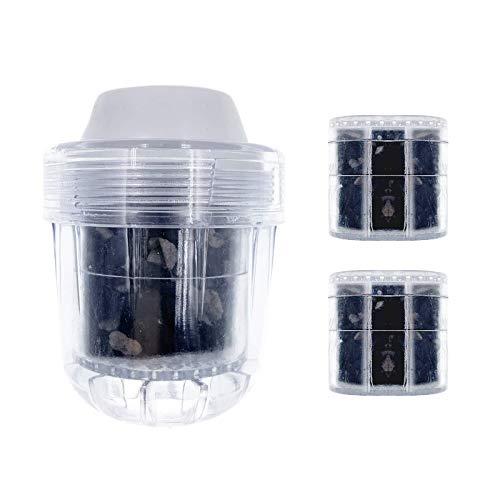 Filtros de agua para grifo: purificador de agua de cocina, purificación de agua y evita salpicaduras, se puede utilizar en el grifo ordinario, enchufe directo.