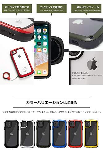 【ROOTCO.】[iPhone11専用]耐衝撃GravityShockResistTough&BasicCase.(カーキ)