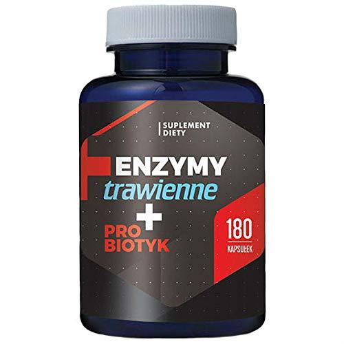 Digestive enzymes + probiotic 180 Capsules Hepatica
