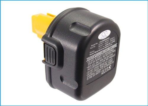 TECHTEK batería sustituye 152250-27, para 397745-01, para DC9071, para DE9037, para DE9071, para DE9074, para DE9075, para DE9501, para DW9071, para DW9072 Compatible con [DEWALT] 2802K, 2812B, 2812K